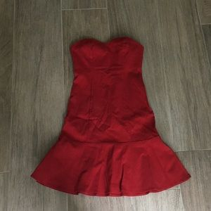 G by Guess mini red dress